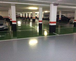 pavimento y pintura para garajes