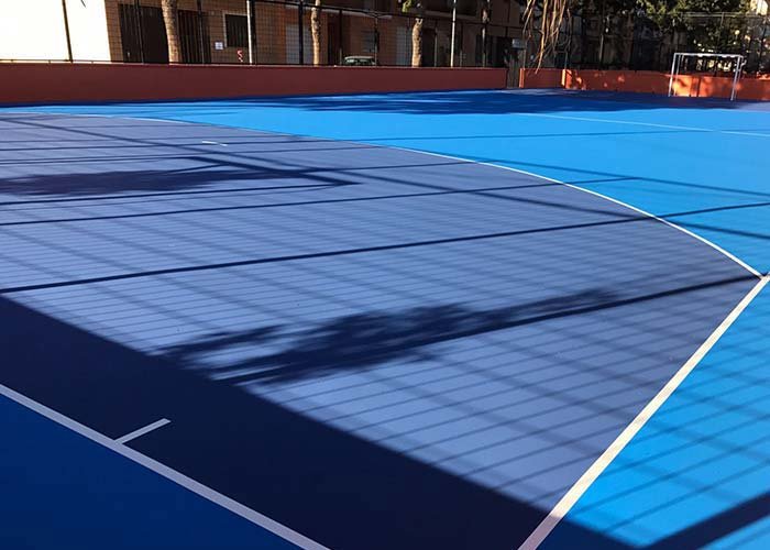 Rehabilitación de suelos y pavimentos deportivos en Castellón