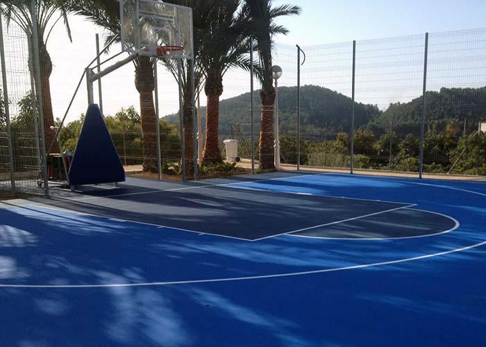 Rehabilitación de suelos y pavimentos deportivos en Alicante