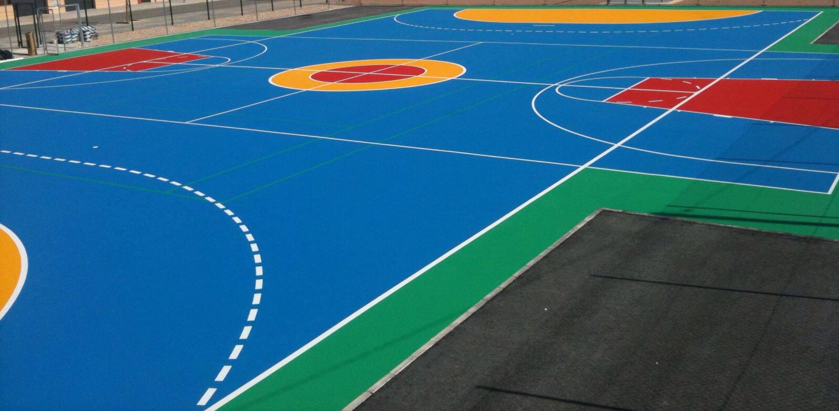 Pavimentos deportivos en Valencia para colegios